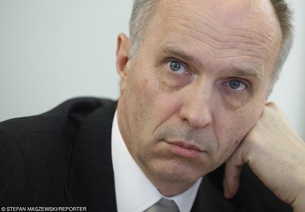 Andrzej Jakubiak, szef KNF. Fot. Stefan Maszewski /Reporter