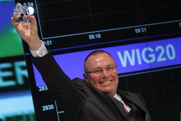 Andrzej Kisieliński, prezes Euroimplantu, spółki z GPW. Dzień po debiucie ceny akcji ani drgnęły... /PAP