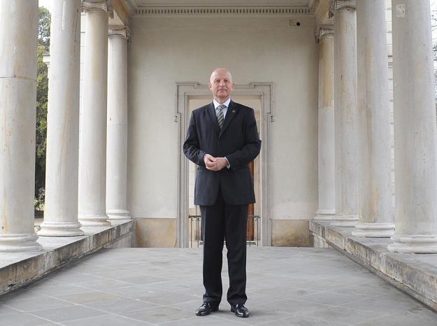 Andrzej Klesyk, prezes PZU. Fot Witold Rozbicki /Reporter
