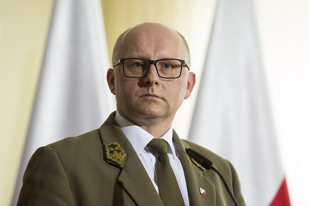 Andrzej Konieczny, wiceminister środowiska. Fot. Andrzej Hulimka /Reporter