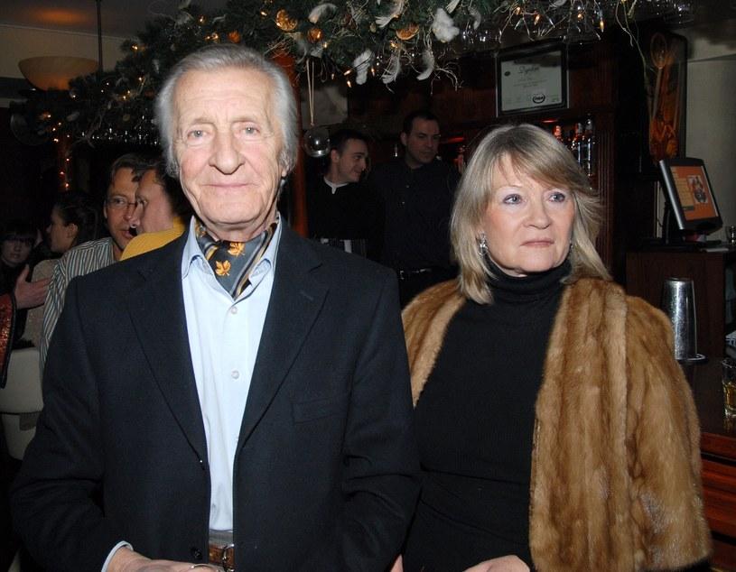Andrzej Kopiczyński i Monika Dzienisiewicz /East News