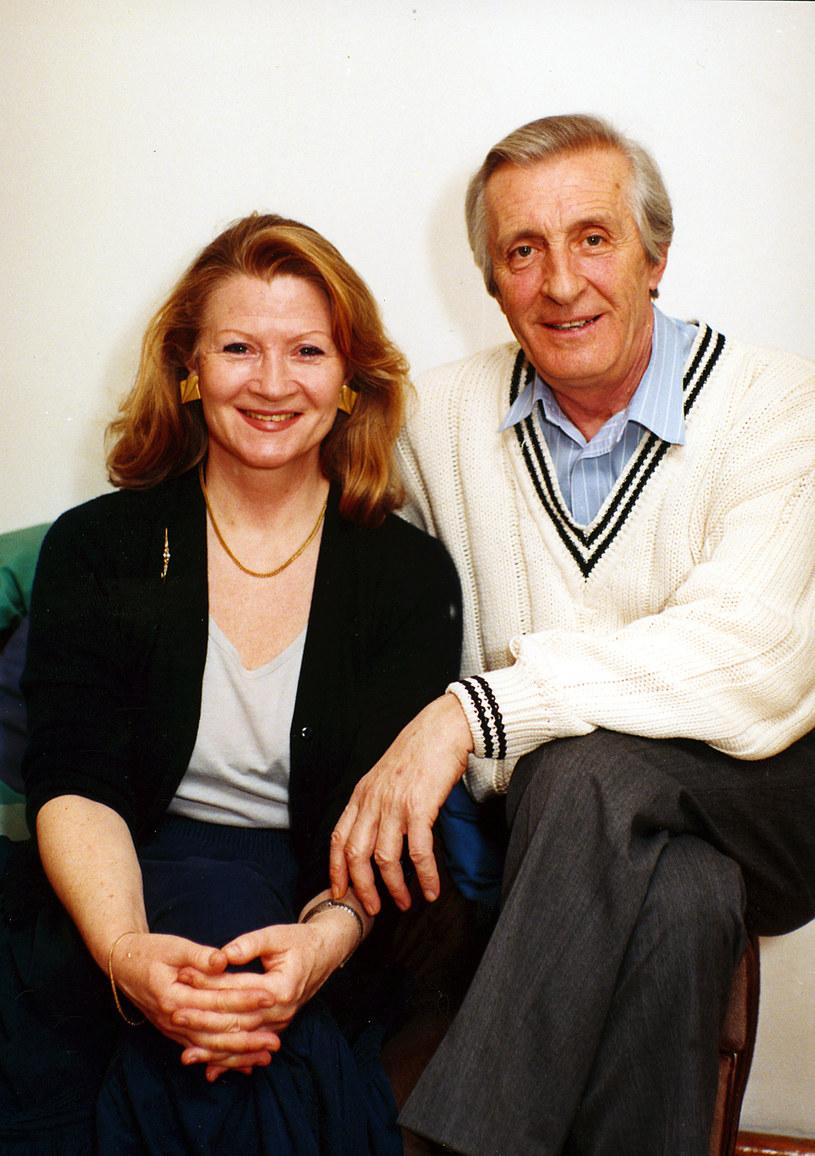 Andrzej Kopiczyński z żoną Moniką Dzienisiewicz-Olbrychską /AKPA