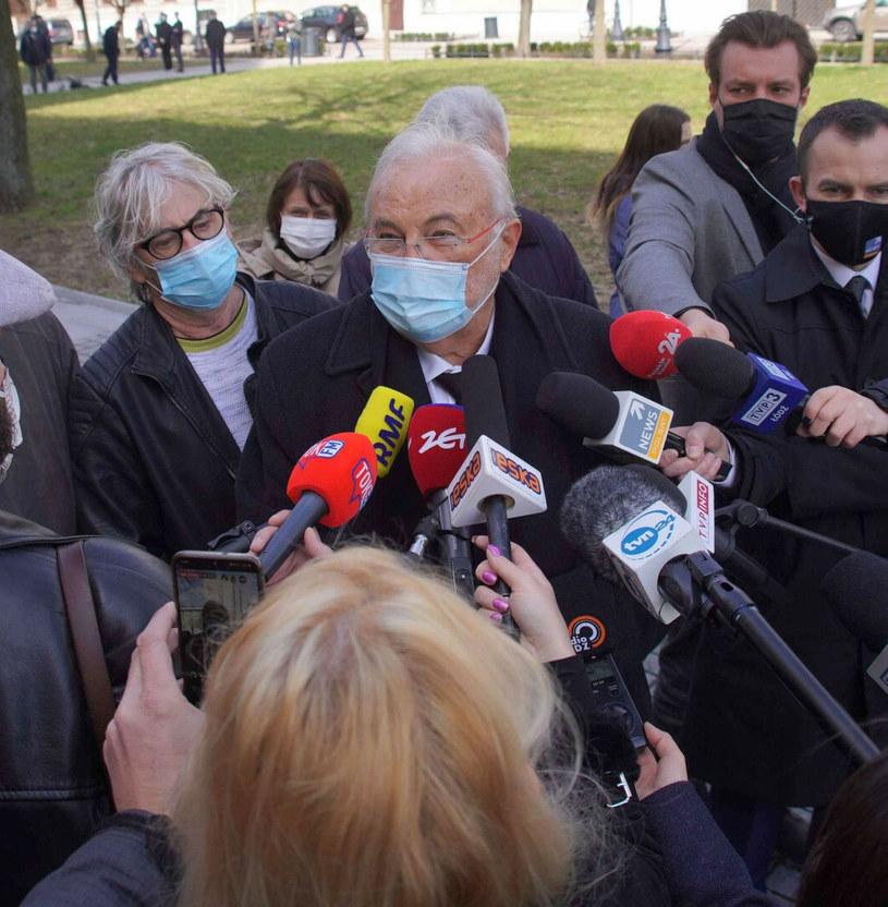Andrzej Kosmala w dniu pogrzebu Krzysztofa Krawczyka /Tricolors /East News