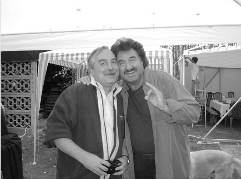Andrzej Krawczyk i jego brat, Krzysztof Krawczyk /facebook.com
