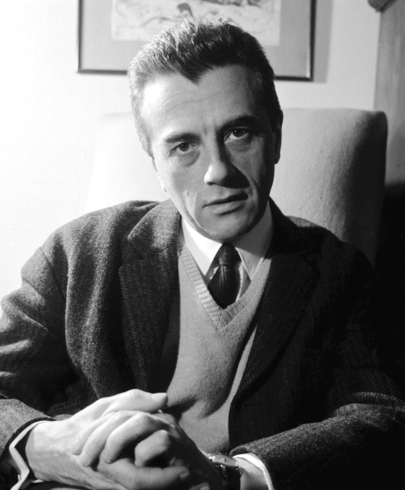 Andrzej Łapicki był jednym z najprzystojniejszych polskich aktorów /Lucjan Fogiel /Agencja FORUM