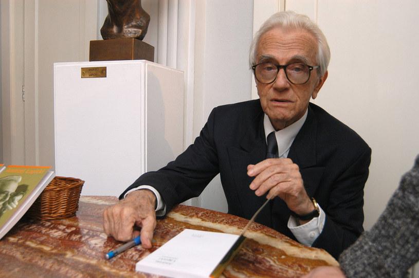 Andrzej Łapicki to ważna postać dla polskiej kultury /Prończyk /AKPA