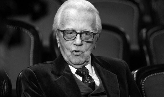 Andrzej Łapicki - wszyscy zgodnie twierdzą, że był wielikm aktorem /AKPA