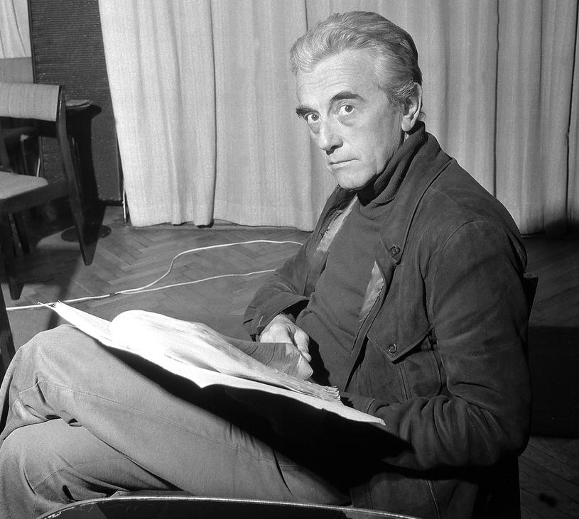 Andrzej Łapicki, zdjęcie archiwalne /Aleksander Jalosiński /Agencja FORUM