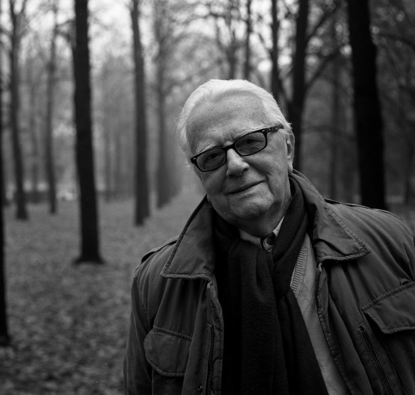 Andrzej Łapicki /Rafał Guz   /Agencja FORUM