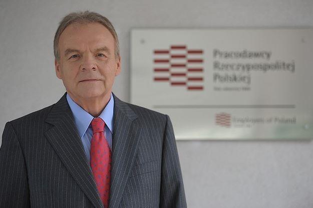 Andrzej Malinowski, prezydent Pracodawców RP /Informacja prasowa