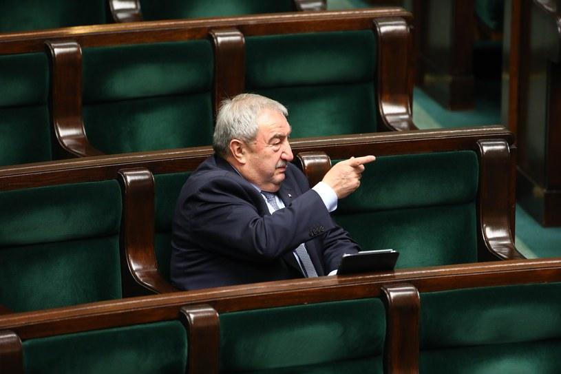 Andrzej Melak w Sejmie /STANISLAW KOWALCZUK /East News