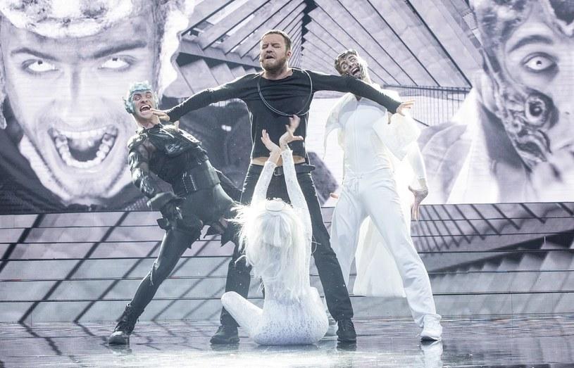 Andrzej Młynarczyk jako Dan Reynolds z Imagine Dragons /M. Zawada /Polsat