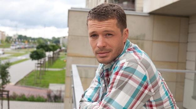 """Andrzej Mlynarczyk, jako Tomek, w """"M jak miłość"""" /- /Agencja W. Impact"""