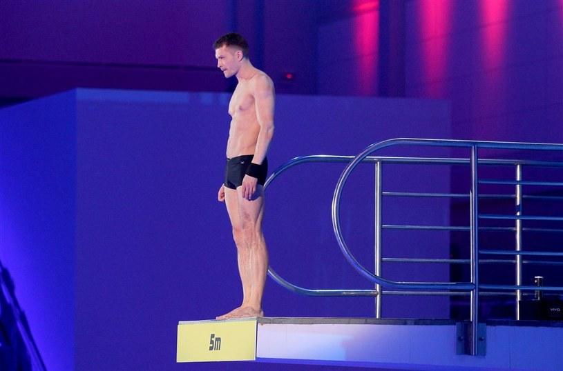 """Andrzej Młynarczyk w show """"Celebrity Splash!"""" /Agencja W. Impact"""