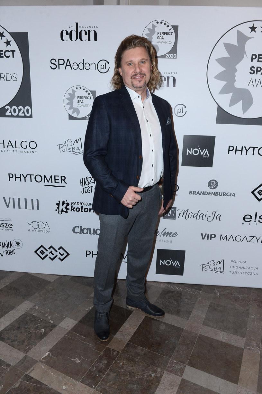 Andrzej Nejman na gali SPA Awards /VIPHOTO /East News