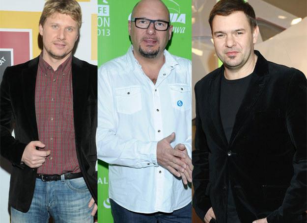 Andrzej Nejman, Piotr Gąsowski i Tomasz Karolak /East News