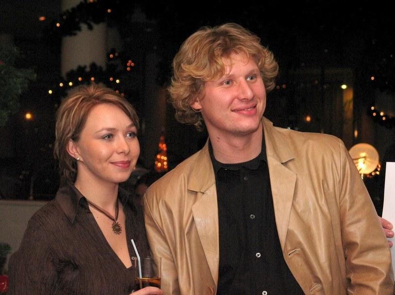 Andrzej Nejman z żoną Małgorzatą w 2003 roku. /Tricolors /East News