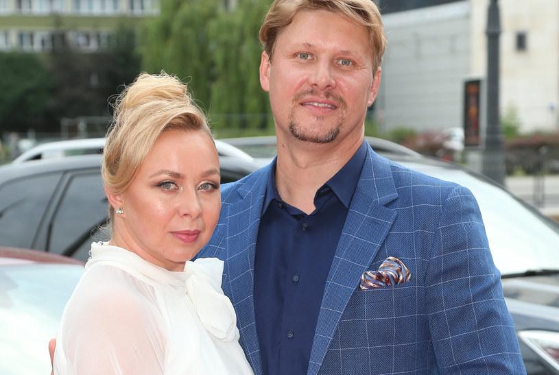 Andrzej Nejman z żoną /Paweł Wrzecion /MWMedia