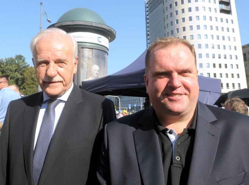 Andrzej Olechowski i Paweł Piskorski /Jan Bielecki /East News