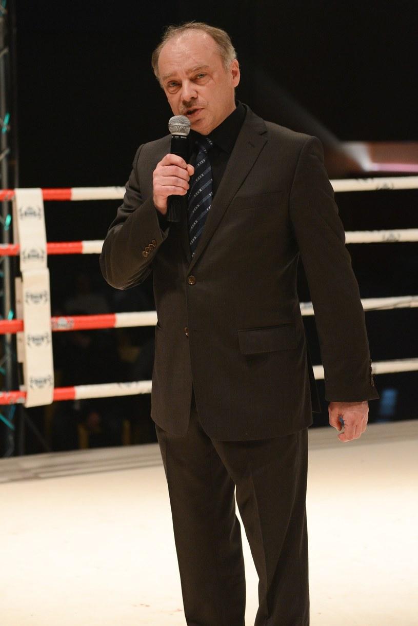 Andrzej Palacz - prezes Polskiego Związku Kickboxingu /fot. Adam Staśkiewicz /East News
