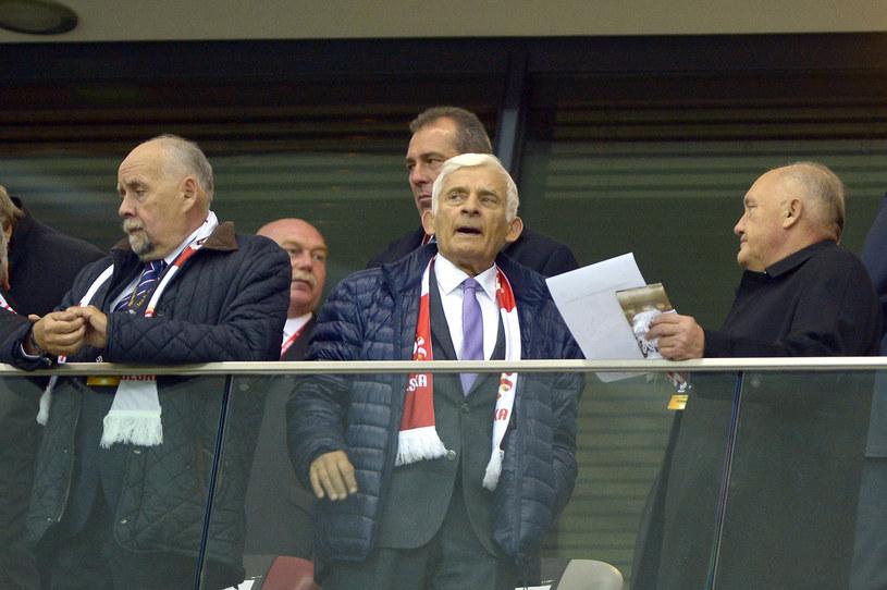 Andrzej Person, Jerzy Buzek, Kazimierz Nycz /Piętka Mieszko /AKPA