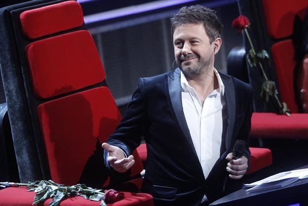 """Andrzej Piaseczny jako juror w """"The Voice Of Poland"""" /AKPA"""