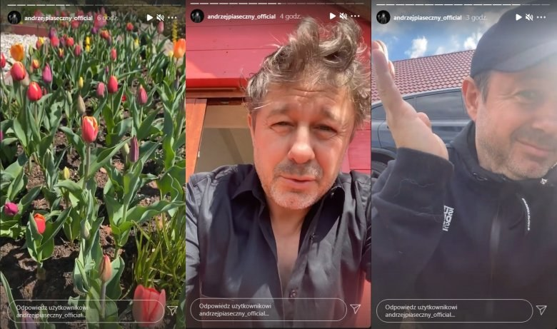 Andrzej Piaseczny nagrał serię filmików /Instagram /materiał zewnętrzny