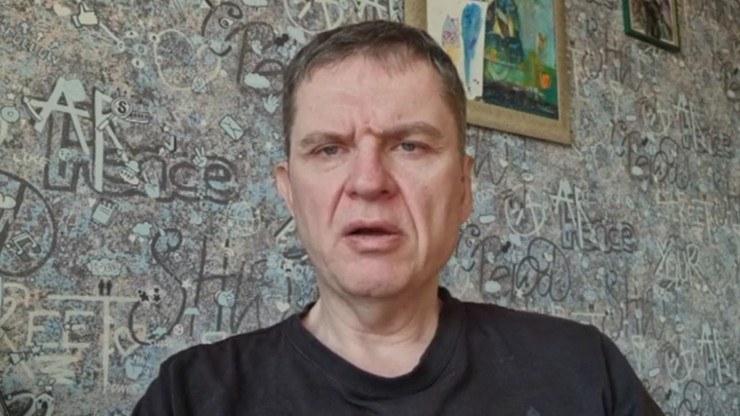 Andrzej Poczobut, dziennikarz, członek Zarządu Głównego Związku Polaków na Białorusi /Polsat News