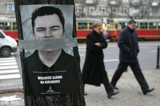 Andrzej Poczobut, więzień reżimu Łukaszenki/Fot. S. Maszewski /Reporter
