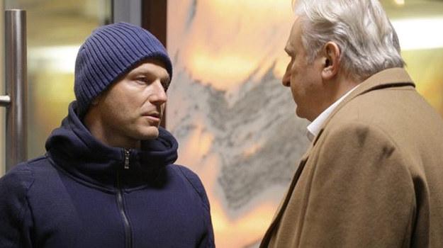 Andrzej poważnie rozmówi się z Krupskim /MTL Maxfilm