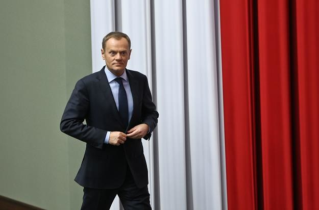 Andrzej Romanek: - Pan, panie premierze, przejdzie do historii jako Donan Barbarzyńca /PAP