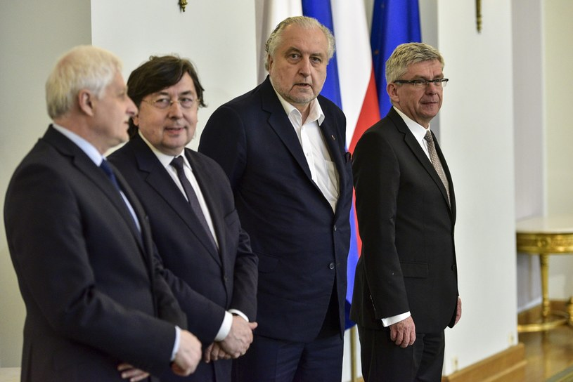 Andrzej Rzepliński i Stanisław Karczewski /Jacek Domiński /Reporter