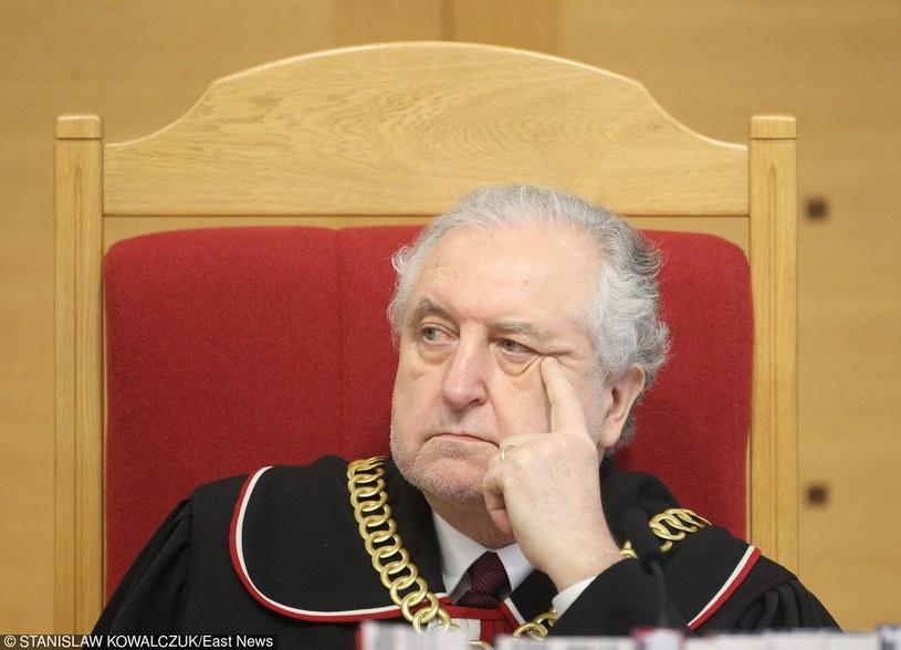 Andrzej Rzepliński podczas rozprawy w TK /STANISLAW KOWALCZUK /East News