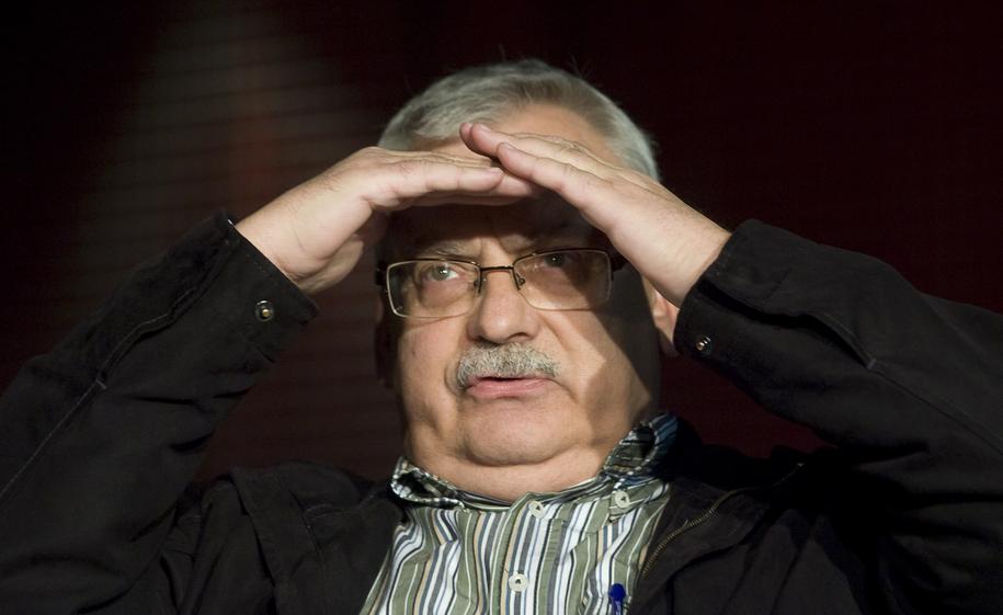Andrzej Sapkowski /Paweł Kula /PAP
