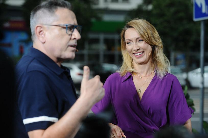 Andrzej Sołtysik i Anna Kalczyńska /VIPHOTO /East News