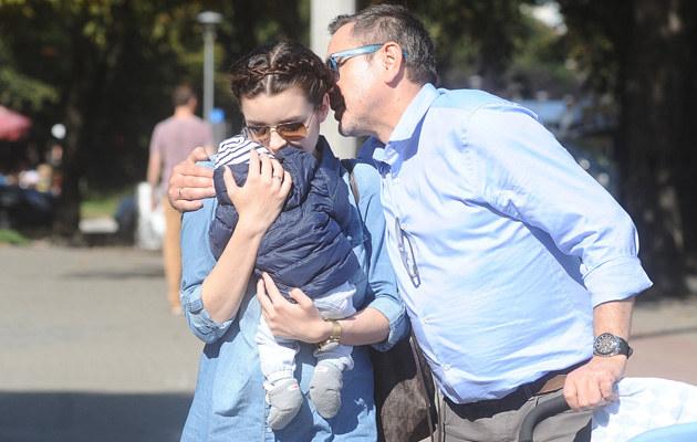 Andrzej Sołtysik opowiada, jak zmieniło się jego życie po narodzinach syna /Andras Szilagyi /MWMedia