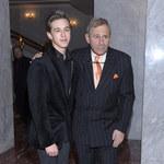 Andrzej Strzelecki pochwalił się synem na salonach! Przystojniak!