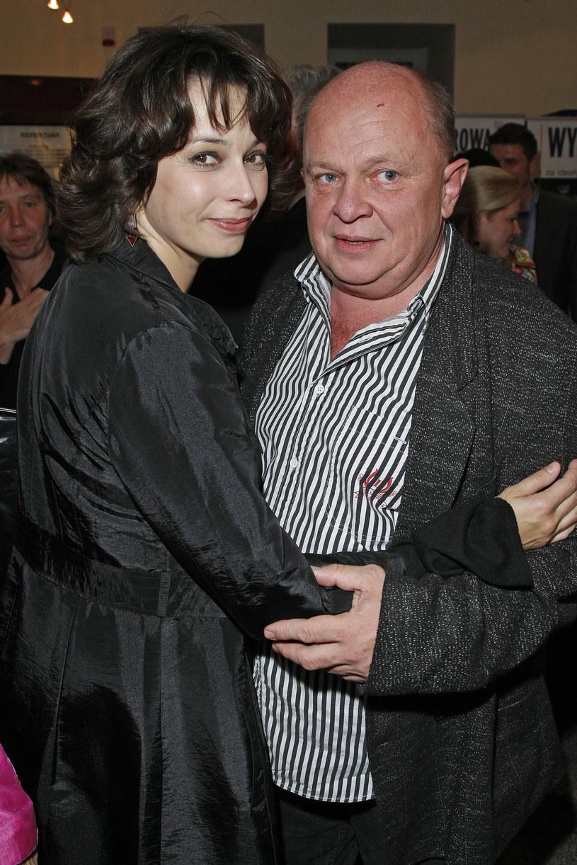 Andrzej Szopa i Renata Dancewicz /- /AKPA