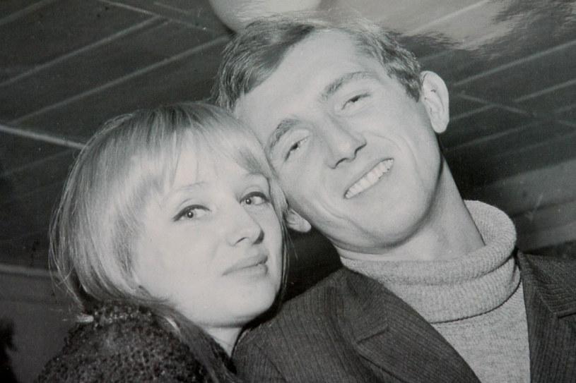 Andrzej Turski z żoną Zofią 1968 rok/Fot. archiwum domowe /East News
