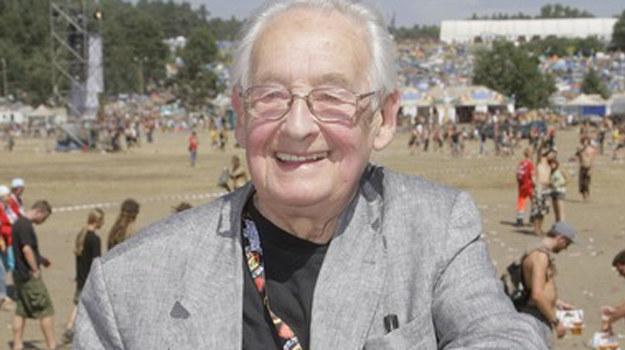 Andrzej Wajda na tegorocznym Przystanku Woodstock /AKPA