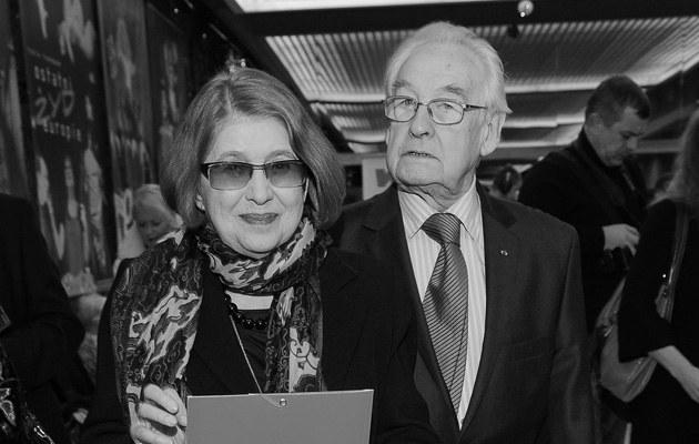 Andrzej Wajda wraz z żoną przeciwni są pochowaniu prezydenta na Wawelu, fot.Paweł Przybyszewski  /MWMedia
