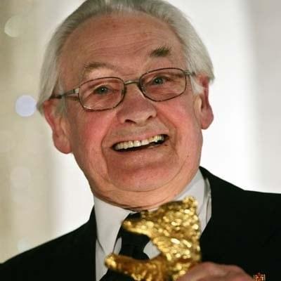 Andrzej Wajda ze Złotym Niedźwiedziem /AFP