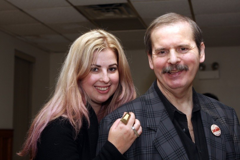Andrzej Wasilewicz z córką Nicole /Zosia Zeleska-Bobrowska /East News