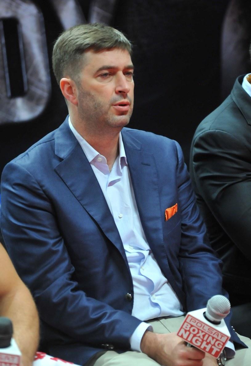 Andrzej Wasilewski jest promotorem i menedżerem w boksie zawodowym /Fot. Marek Lasyk /East News