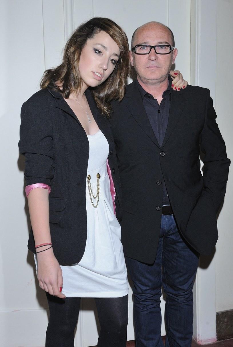 Andrzej z córką /- /East News