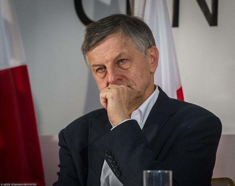 Andrzej Zybertowicz - doradca prezydenta Andrzeja Dudy /Jacek Domiński /Reporter