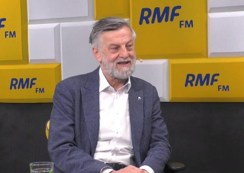 Andrzej Zybertowicz w Porannej rozmowie w RMF FM /RMF