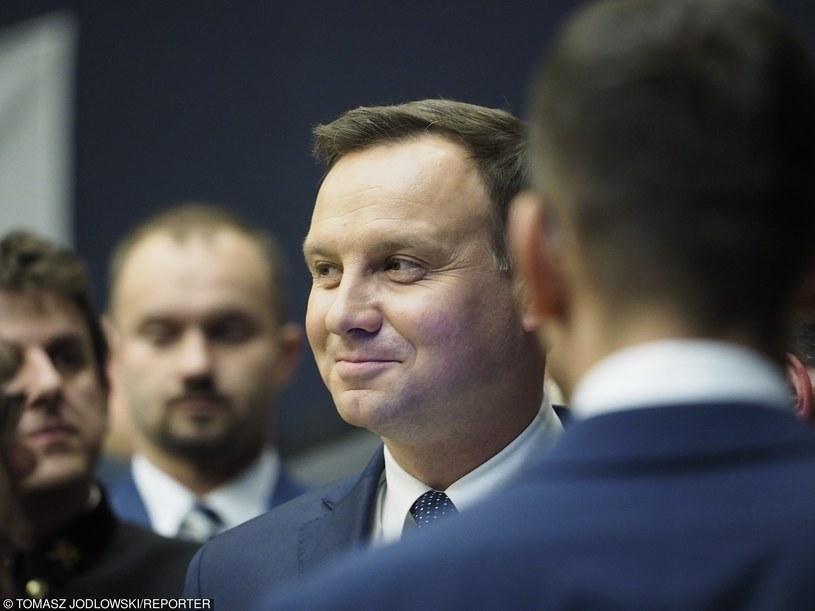 Andrzejowi Dudzie zarzuca się złamanie konstytucji /Tomasz Jodlowski /Reporter
