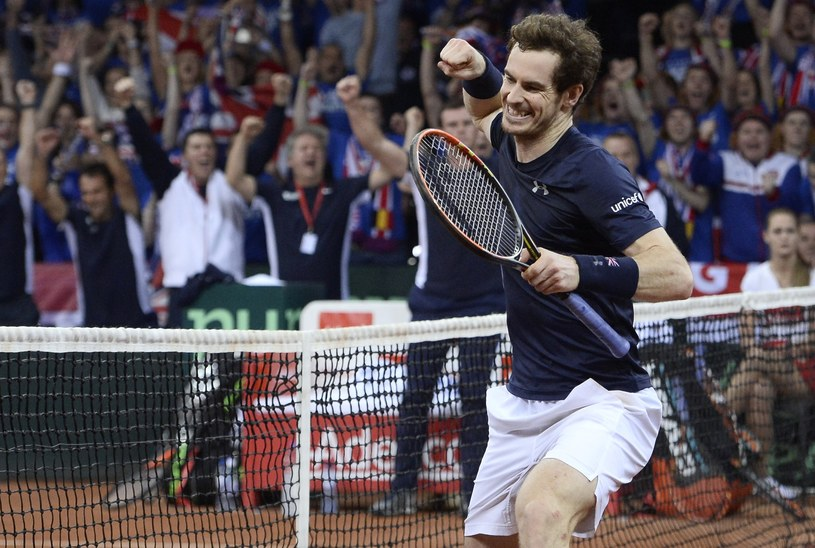 Anduy Murray triumfuje /AFP