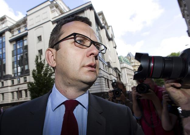 """Andy Coulson, były szef """"News of the World"""" /AFP"""